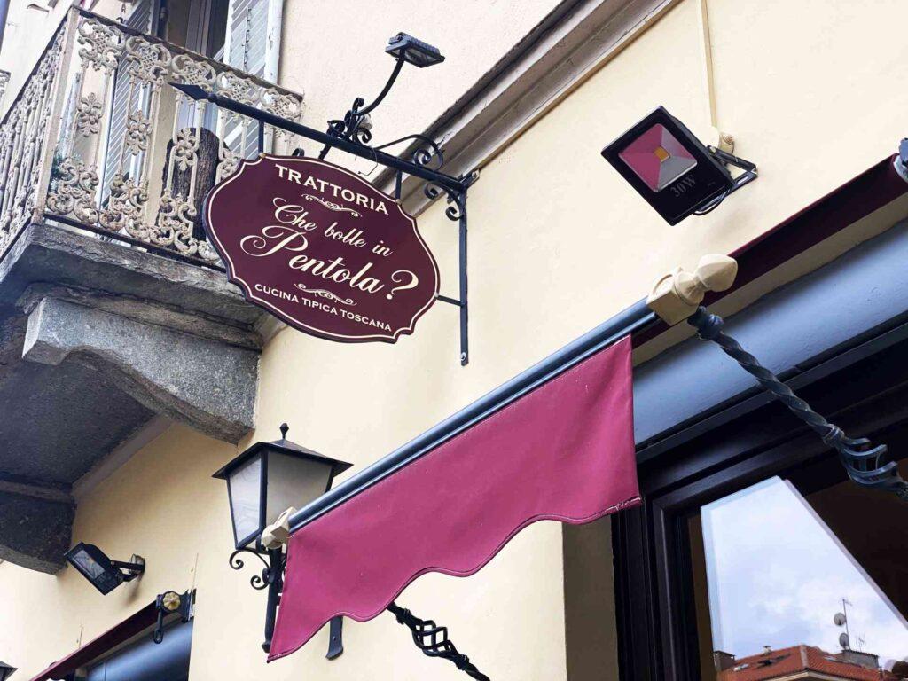 Che Bolle in Pentola Torino - ristorante trattoria Torino - ingresso