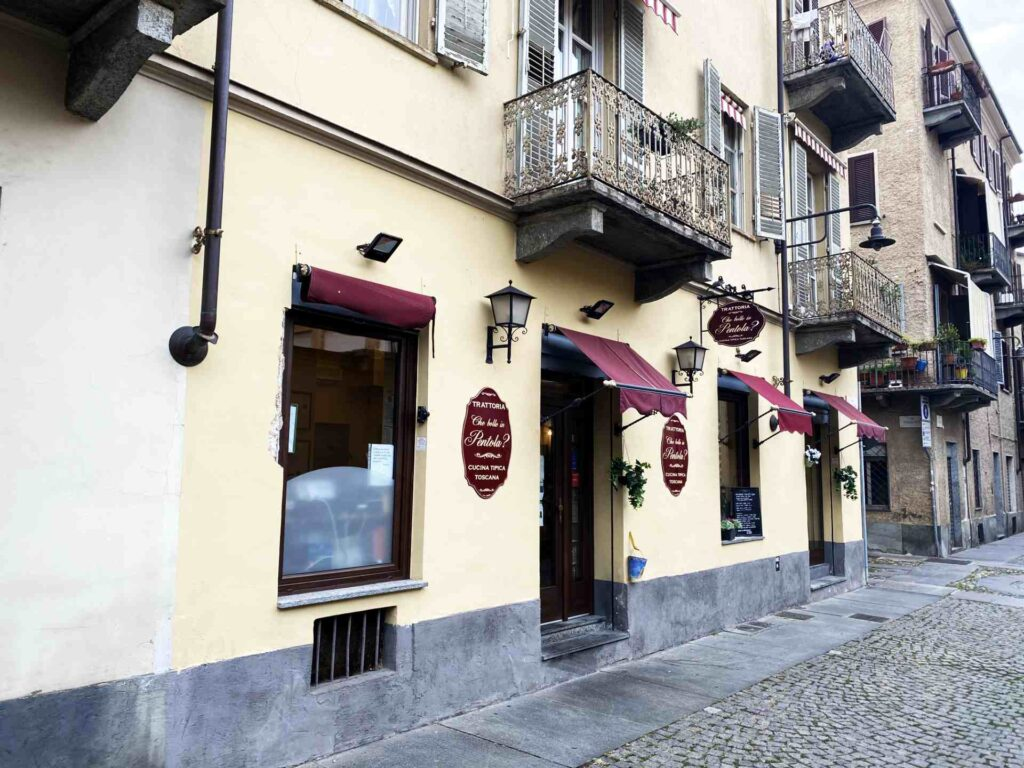 Che Bolle in Pentola Torino - ristorante trattoria Torino - ingresso 3